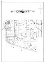 Malden Township, Essex County 1880